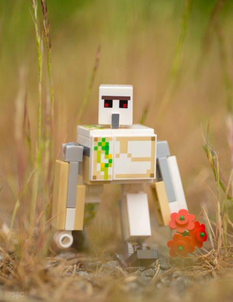 Golem-Minecraft-Lego-Legography=stuckinplastic