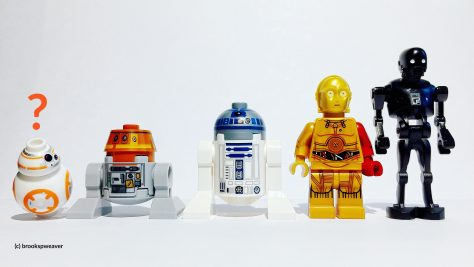 The droids of the rebellion.