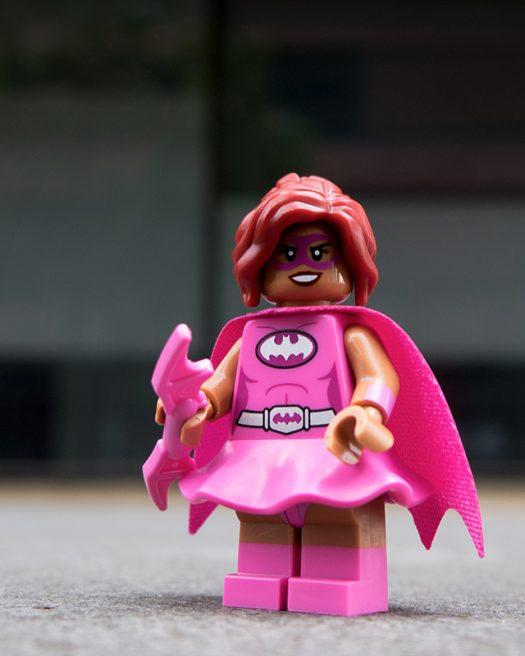 Pink Power Batgirl