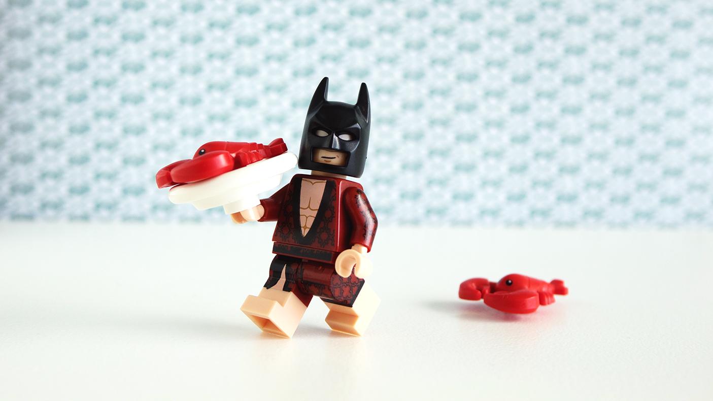 lobster lovin' Batman