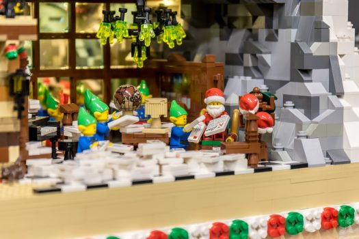A small story inside Santa's house