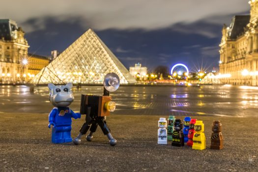 Why not try some night photography in the city of lights?