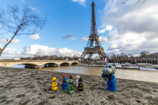 The Eiffel tower will be one of the landmarks visited during the weekend