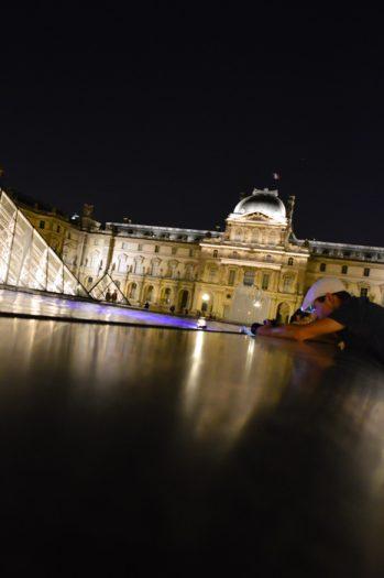 A night at the Louvre