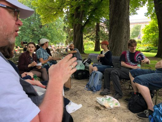 Lunch in the Jardin du Luxembourg